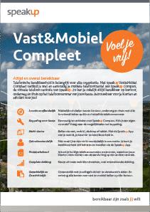 Speakup Vast&Mobiel Compleet