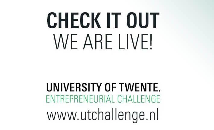 UT Challenge - Speakup ook in 2018 maatschappelijk partner, coach en jurylid.