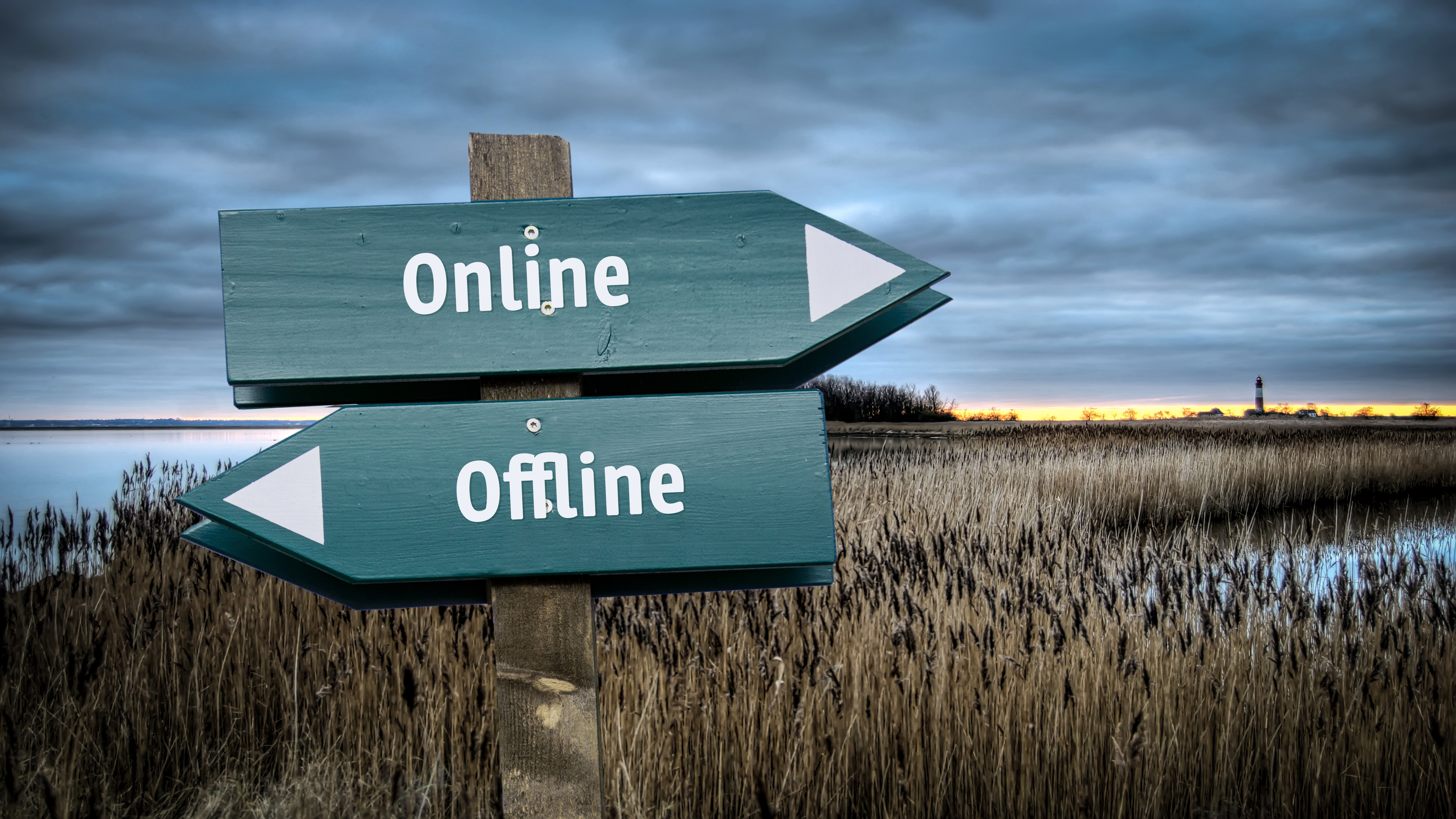 offline vs online: vrije tijd